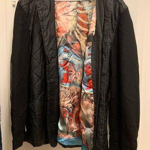 Marc Ecko Cut & Sewn anatomy jacket